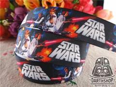 Текстильная лента STAR WARS 22 мм