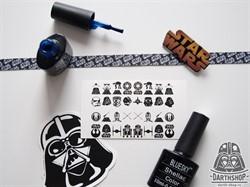Слайдеры (наклейки) для ногтей DarthShop Star Wars - фото 4509