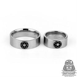 Кольцо с гравировкой Империя (004-007-01-1)