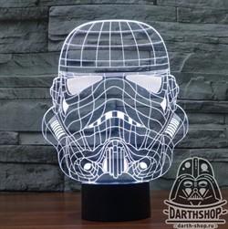 Светильник 3D Штурмовик (300-002-00-1)