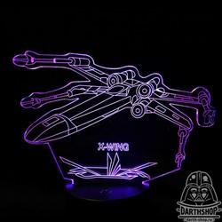 Светильник с эффектом 3D X-Wing (300-021-00-1)