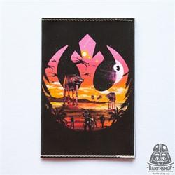 051-008-04-1 - Обложка для паспорта с водоотталкивающим покрытием Альянс Повстанцев