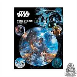 Набор стикеров STAR WARS (060-009-04-2)