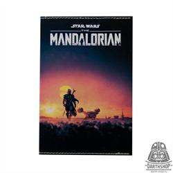 Обложка для паспорта с водоотталкивающим покрытием STAR WARS The Mandalorian (051-036-12-2), фото