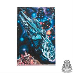 Обложка для паспорта Millenium Falcon (051-022-09-1)