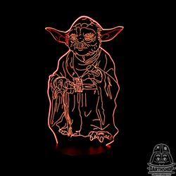 Светильник с эффектом 3D Yoda (300-018-20-1)