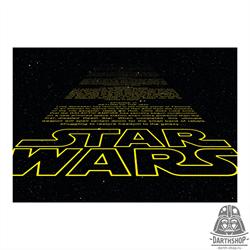 Фотообои STAR WARS Intro