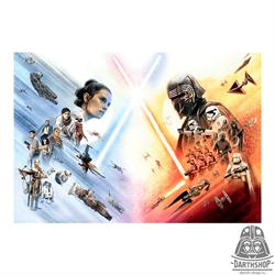 Фотообои STAR WARS EP9 Movie Poster Wide