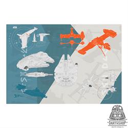 Фотообои STAR WARS Technical Plan