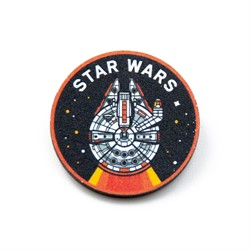 Деревянный значок STAR WARS (815-009-04-1)