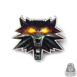 Деревянный значок Школа Волка (815-602-06-1)