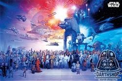 """Постер """"Вселенная ЗВ"""" - фото 6666"""