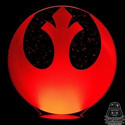 Ночник Rebel Alliance Logo