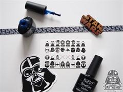 Слайдеры (наклейки) для ногтей DarthShop Star Wars