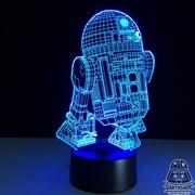 Светильник с эффектом 3D R2-D2 (300-010-00-1)