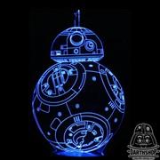 Светильник с эффектом 3D BB8 (300-011-00-1)