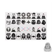 Слайдеры (наклейки) для ногтей DARTHSHOP Star Wars (020-009-05-1)
