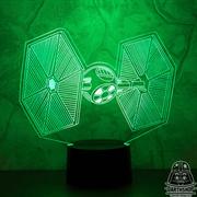 Светильник с эффектом 3D СИД-Истребитель (300-053-20-1)