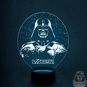 Светильник с эффектом 3D Vader (300-001-00-5), белая подсветка