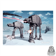 Фотообои STAR WARS Battle of Hoth