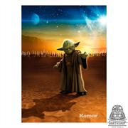 Фотообои STAR WARS Master Yoda