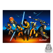 Фотообои STAR WARS Rebels Run