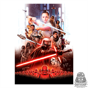 Фотообои STAR WARS EP9 Movie Poster Rey