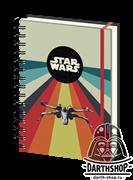 "Star Wars (Nostalgia) A5 Wiro Notebooks / Звёздные войны - блокнот А5 "" Ностальгия """