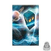 Обложка для паспорта Тардис (051-102-09-2)