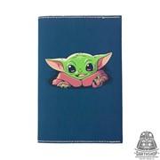 Обложка для паспорта с водоотталкивающим покрытием Малыш Йода (051-037-06-1)