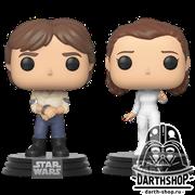 Funko POP! Bobble: Star Wars: 2PK Han & Leia / Фигурки Фанко Поп! Звёздные войны - Принцесса Лея и Хан Соло