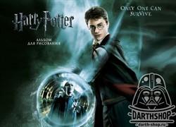 Гарри Поттер и Орден Феникса. Альбом для рисования (формат А4, офсет 160 гр., 50 страниц, евроспираль, с заданиями)