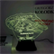 Светильник с эффектом 3D Millenium Falcon (300-022-00-2)